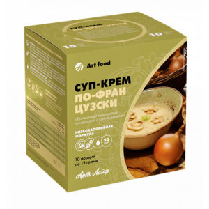 Суп-крем ПО-ФРАНЦУЗСКИ