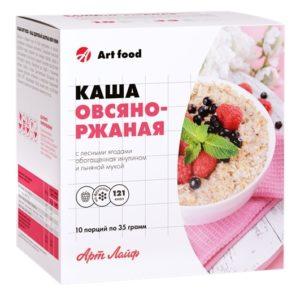 каша вкусная с лесными ягодами