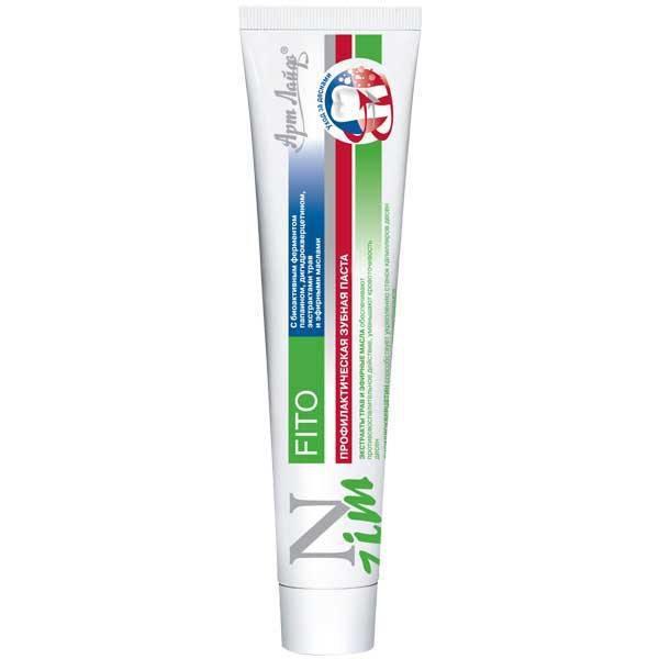 Зубная паста N-Zim Fito